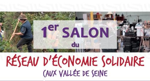 Premier salon du Réseau d'Economie Solidaire Caux Vallée de Seine - 9 novembre - Notre-Dame de Gravenchon