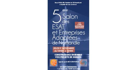 Salon des ESAT et Entreprises Adaptées de Normandie - 9 novembre - Caen
