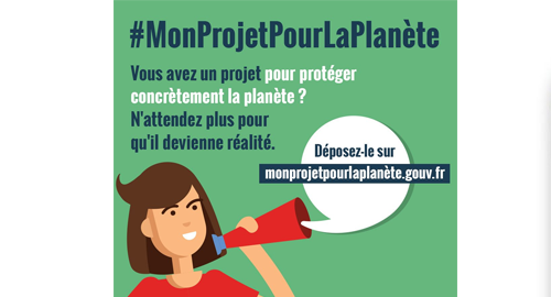 Appel à projet « Mon projet pour la planète » jusqu'au 28 février 2018