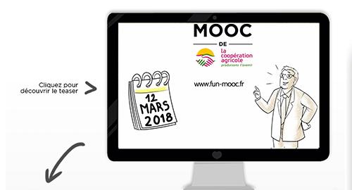 MOOC de la coopération agricole à partir du 12 mars 2018