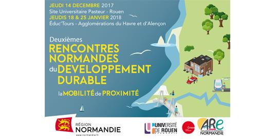 Rencontres normandes du développement durable : éduc'tours - 18 et 25 janvier - Le Havre et Alençon