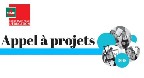Appel à projets 2018 Fonds Maif pour l'éducation