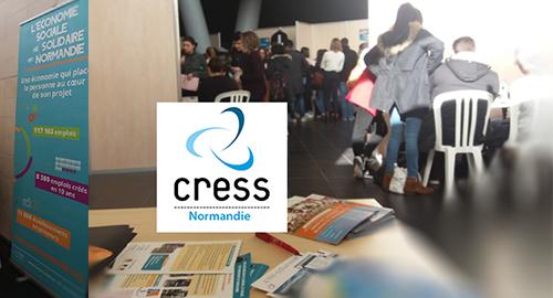 La CRESS au Forum des Métiers de la Faculté de Droit, des Sciences économiques et de Gestion de Rouen