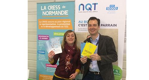 La CRESS au Forum des Emplois en Seine en faveur de l'emploi dans l'ESS