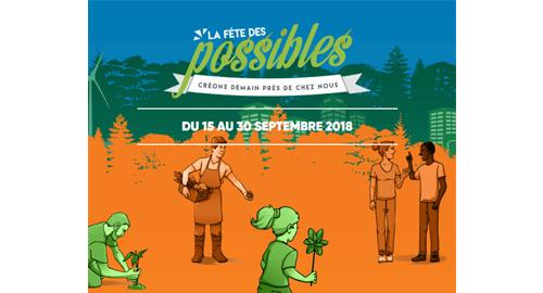 La Fête des possibles - Du 15 au 30 septembre