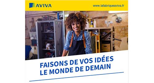 Appel à projet de la Fabrique Aviva jusqu'au 19 avril