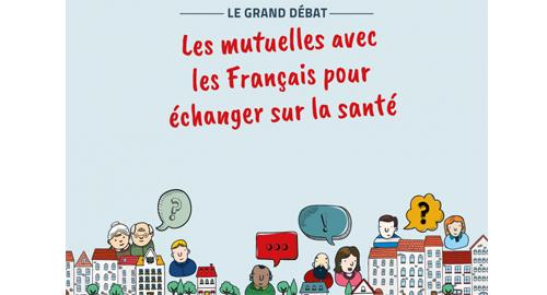 Une centaine de débats organisés par les mutuelles à l'occasion du Grand Débat National / A Caen, RDV le 15 mars !